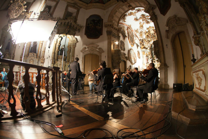 Orquestra Ouro Preto grava música tema em comemoração aos 60 anos da Petrobras