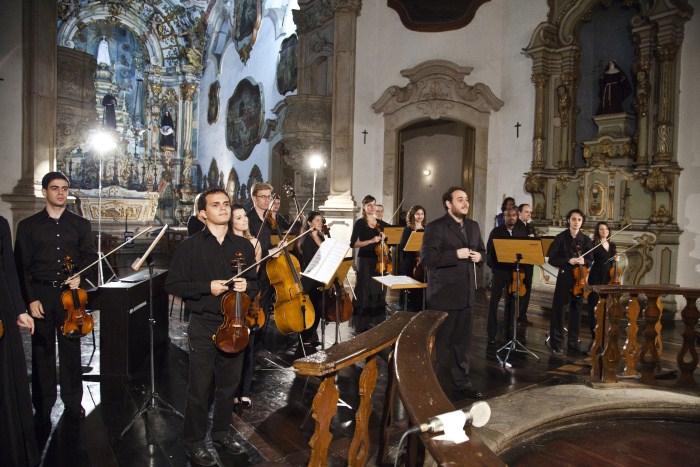 Orquestra Ouro Preto realiza concerto na Igreja de Nossa Senhora do Carmo