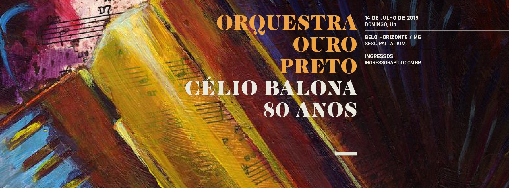 CÉLIO BALONA 80 ANOS