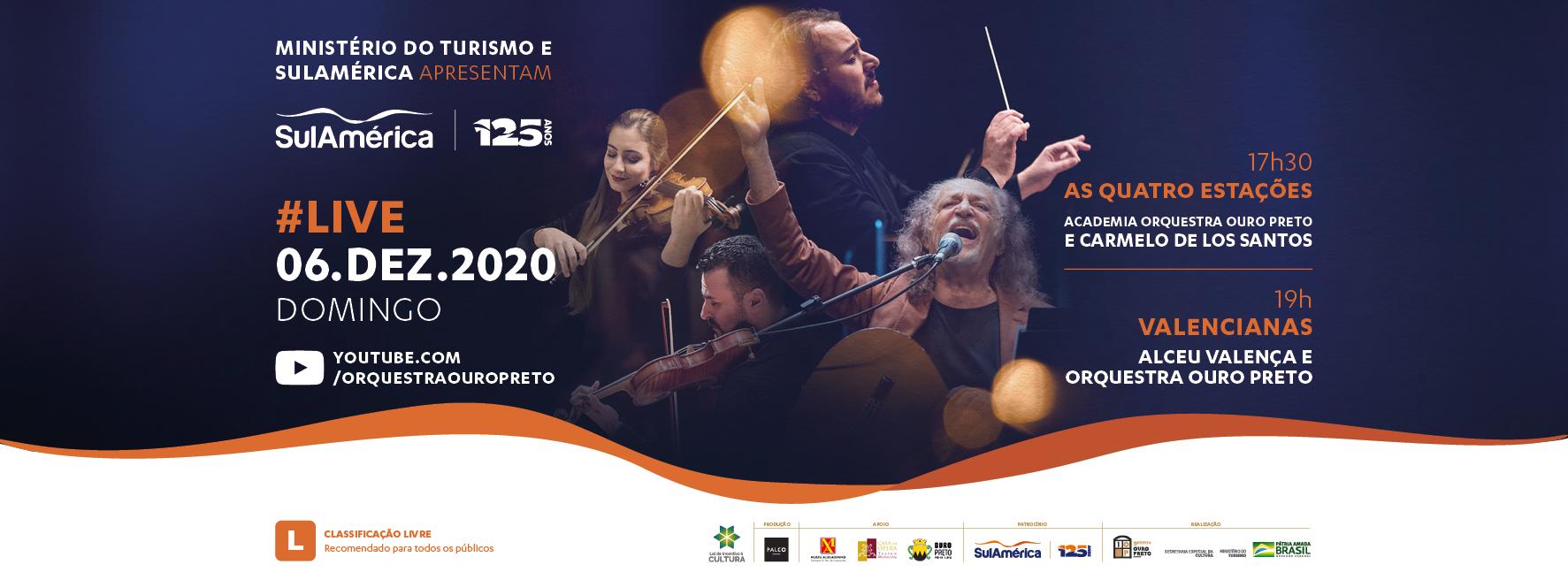Live – Valencianas e As 4 Estações