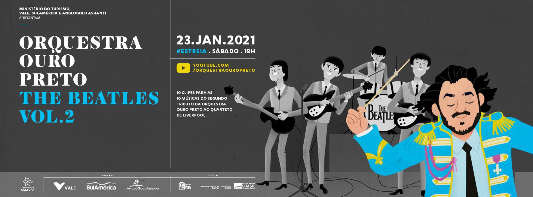 Estreia – The Beatles Vol.2
